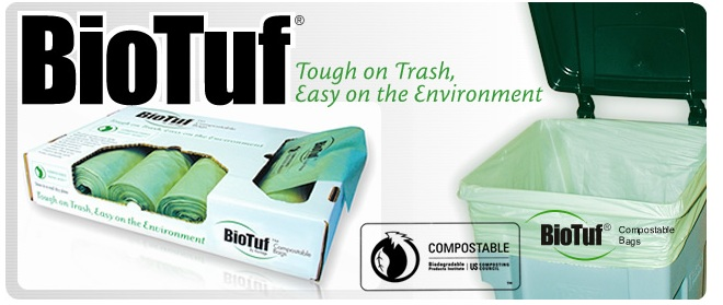 Biodegradable Compostable Trash Bags